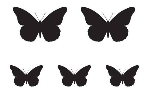 Пластиковые бабочки своими руками