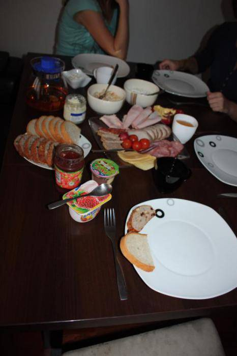 typical polish breakfast - 466×700